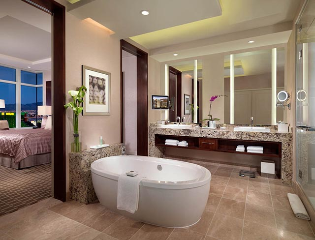 bathroom ideas for hotel inspired look