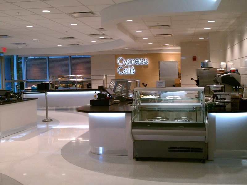Custom Millwork Citrix Cypress Café