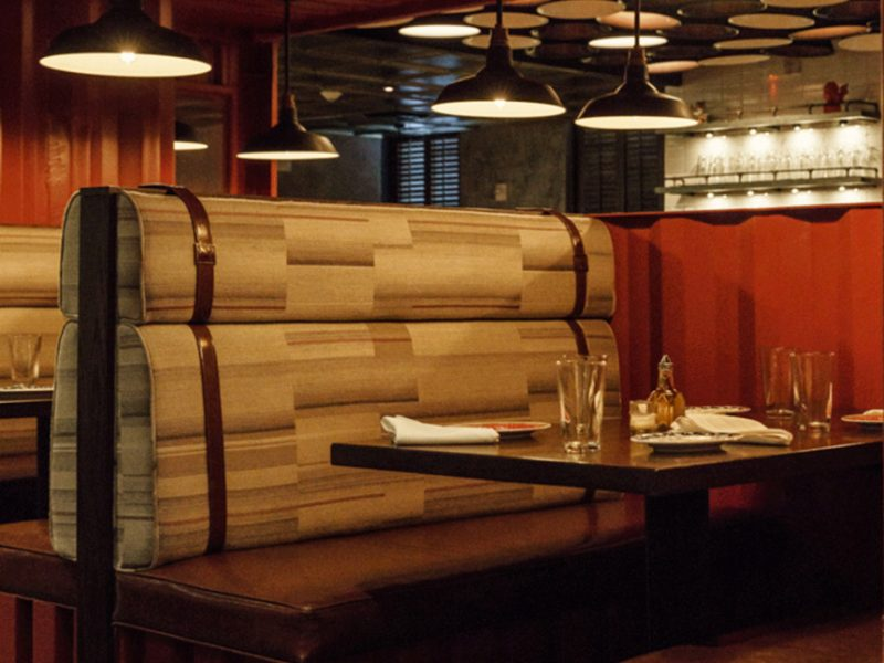 Custom Restaurant Booths – Talde Restaurant Miami Beach
