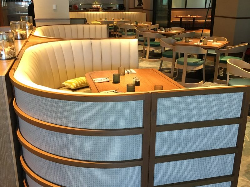 Custom Booth Seating – Ritz Carlton Key Biscayne