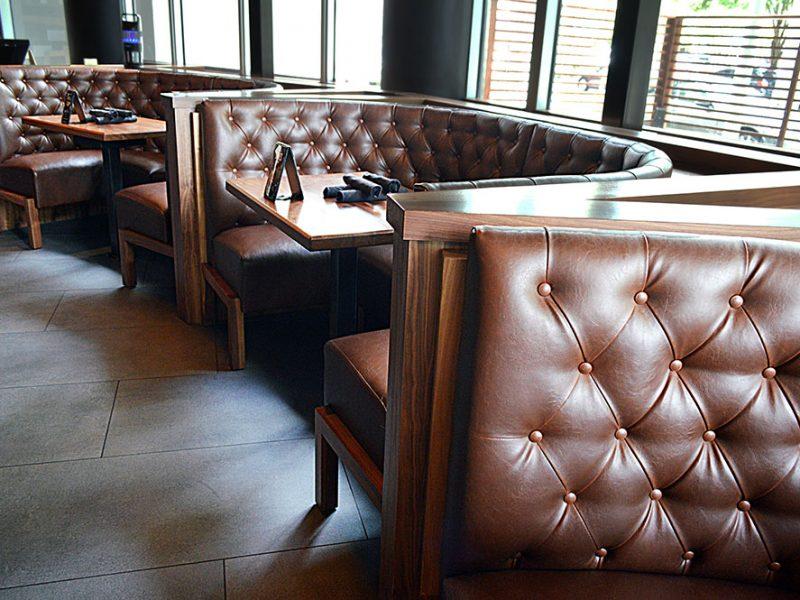 Tap 42 Custom Restaurant Seating In Miami