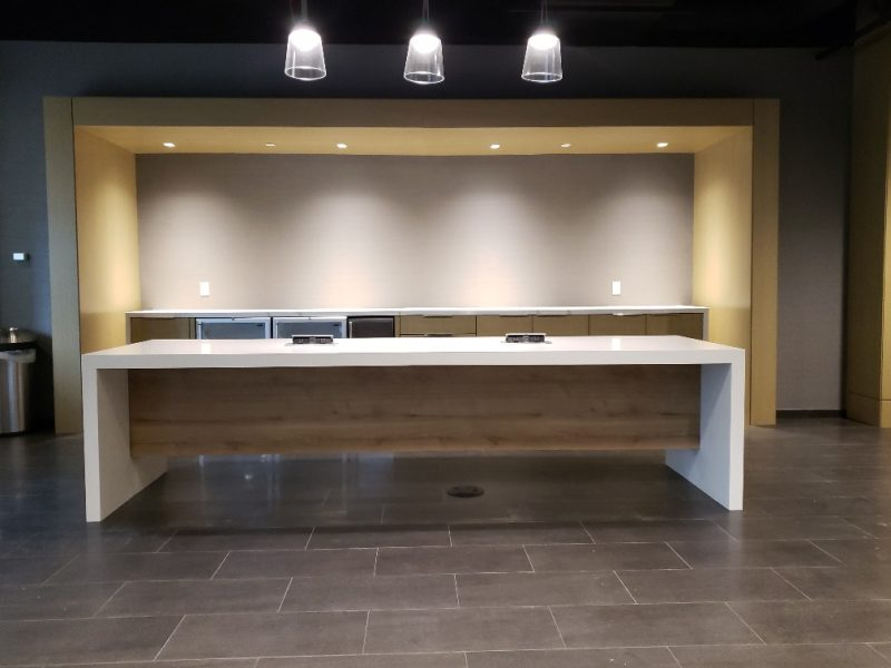 Custom Millwork – Miami Center Project