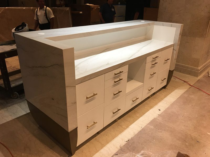 Custom Millwork – Marriott Waterside-Tampa