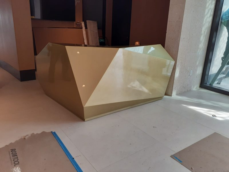 Grove XXIII-Michael Jordan Golf Club- Custom Brass Polygon Desk
