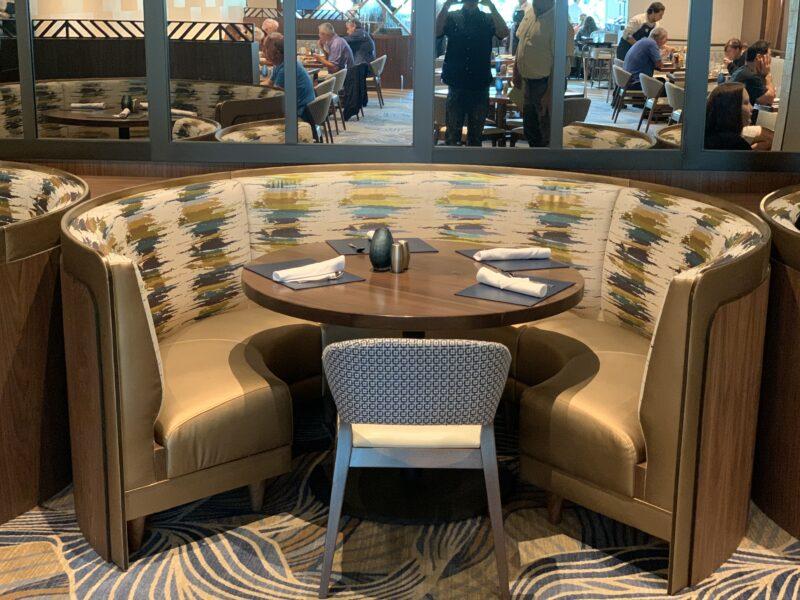 Seminole Hollywood- All Day Dining Custom Seating